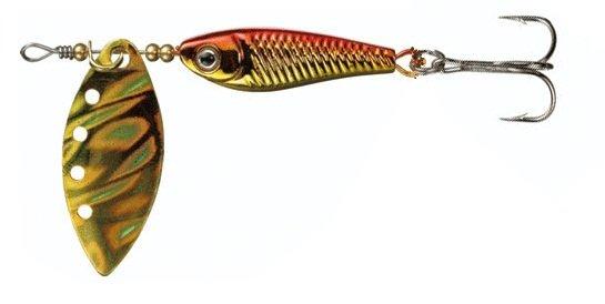 daiwa Блесна DAIWA Silver Creek Spinner-R 1150 Holo Akakin (10000029)