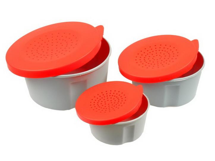 aquatech plastics Набор коробок для червей AQUATECH 3шт