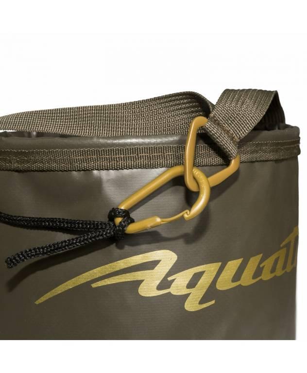 aquatic Ведро герметичное с шнуром для прикормки и хранения Aquatic В-08 (5л, 20х16см)