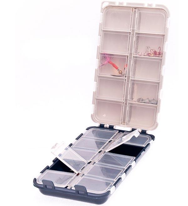 aquatech plastics Коробка AQUATECH двойная 20 ячеек с крышками