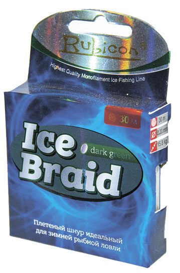rubicon Ice Braid 30m dark green, d=0,16mm