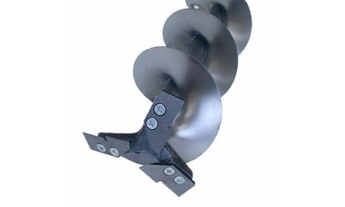 тонар Ледобур титановый ТЛР-130Д-3НТШ трехножевой