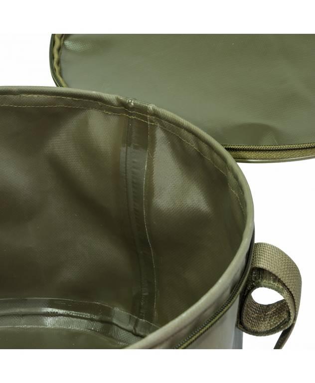 aquatic Ведро герметичное с крышкой для прикормки и рыбы Aquatic В-07 (70л, 50х37см)