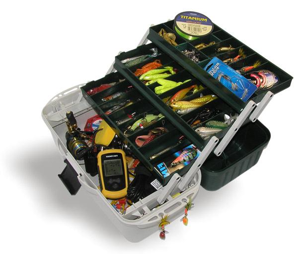 aquatech plastics Ящик рыболовный AQUATECH трехполочный (400x195x210 мм)