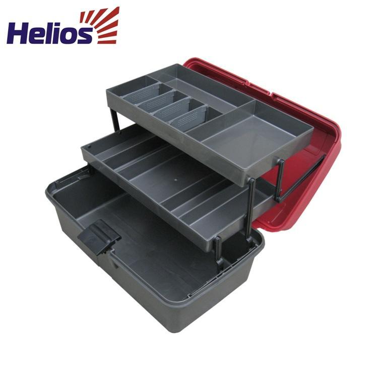 ящик рыболова трехполочный helios купить