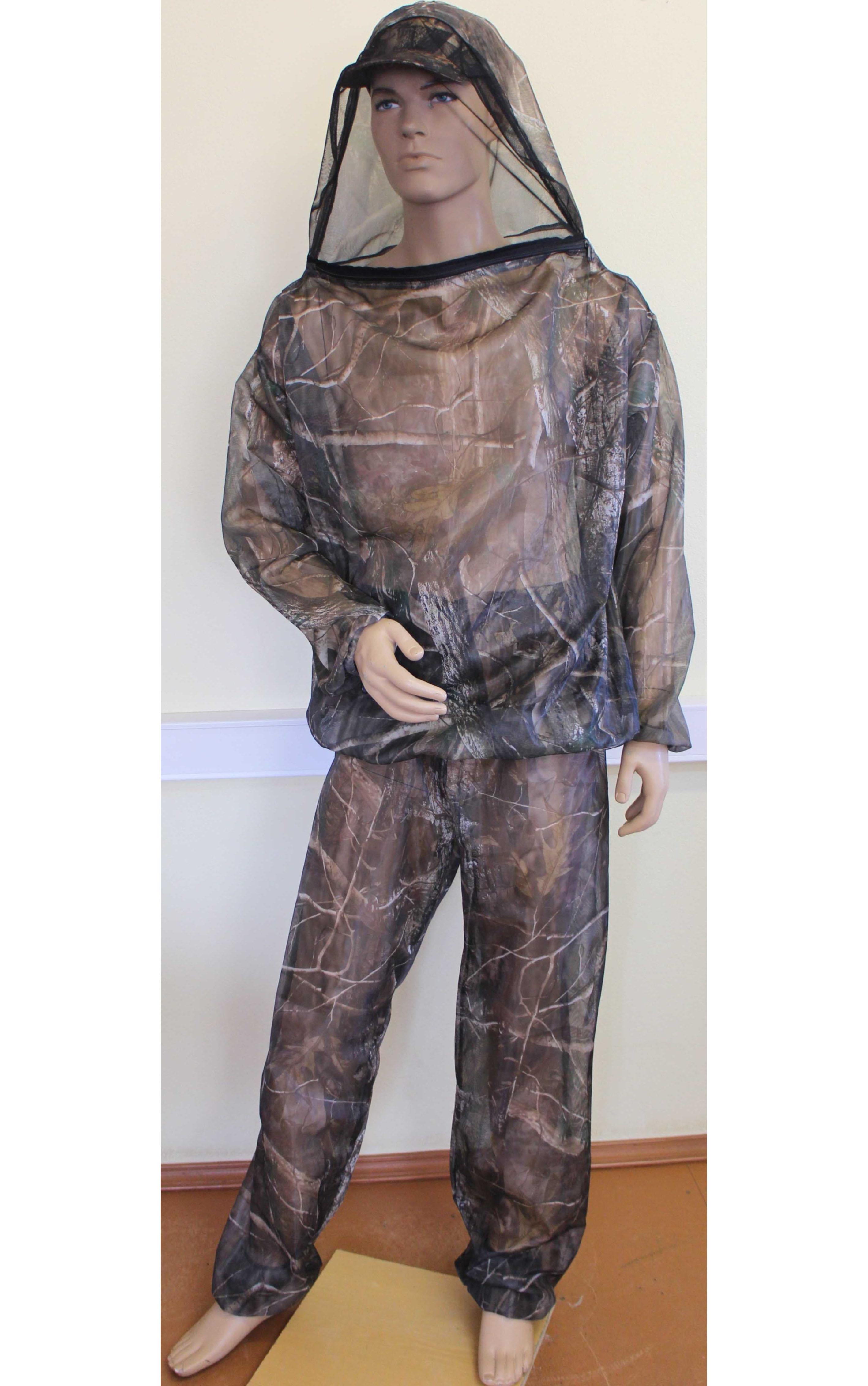 костюм для рыбалки с антимоскитной сеткой